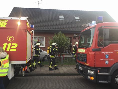 Sauerstoffgerät in Brand geraten – Patient verletzt