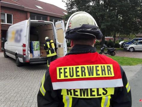 Ungewöhnlicher Einsatz für die Feuerwehr Remels