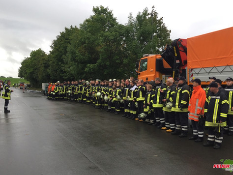 130 Teilnehmer bei Großübung in Weener