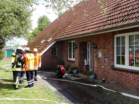 Schornsteinbrand: Rohrisolierung schmorte schon
