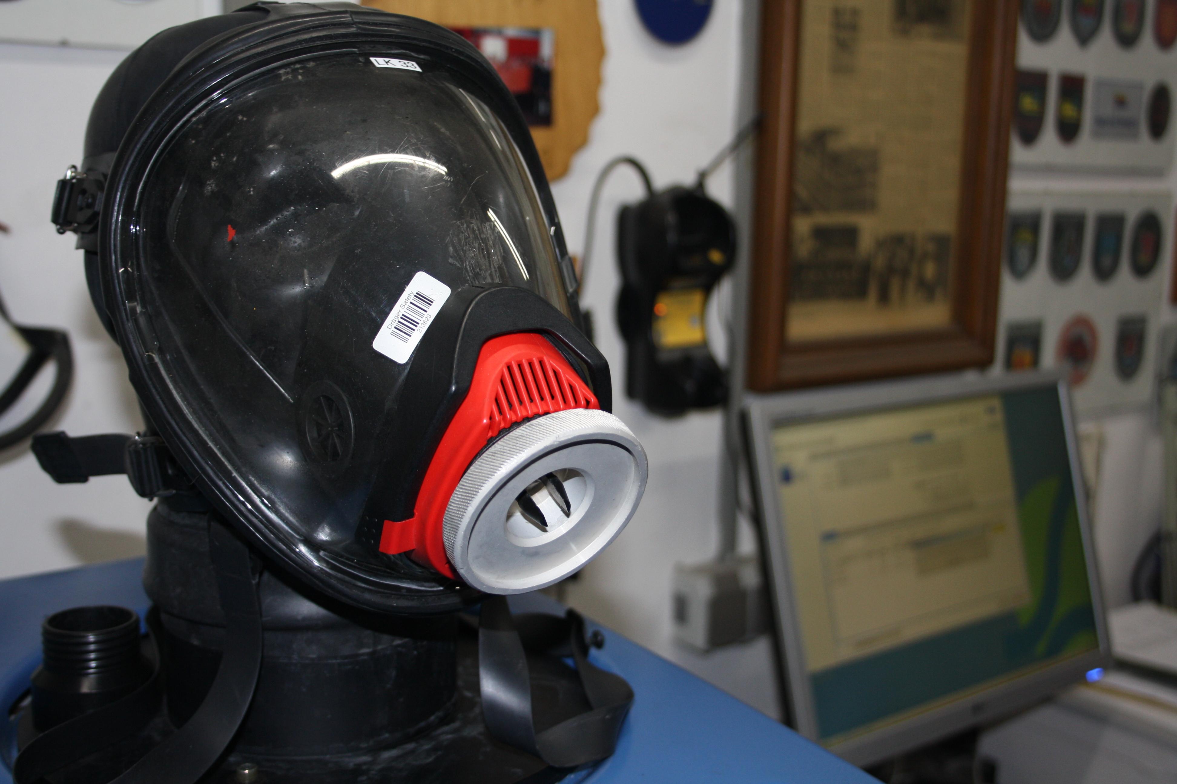 Prüfung von Atemschutzgeräten
