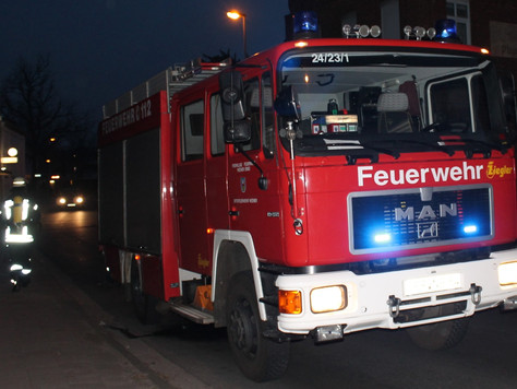 Unsachgemäßes Grillen führt zu Feuerwehreinsatz
