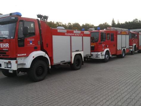 Feuerwehren aus dem LK Leer wieder in Meppen im Einsatz