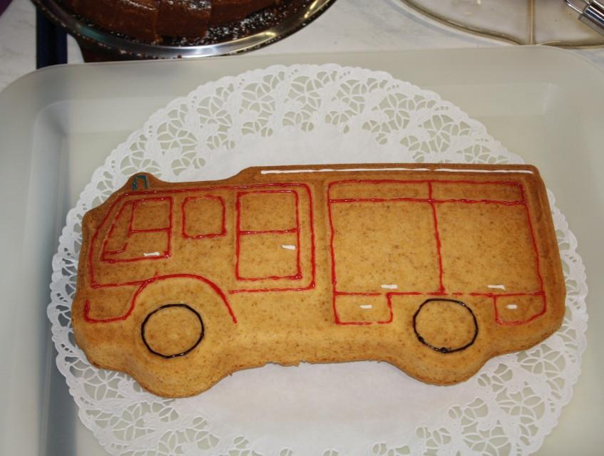 Im Anschluss gab es leckeren Kuchen. Dies ist nur einer von vielen...(Bild: Janßen)