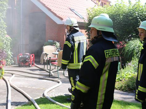 Küchenbrand in Veenhusen