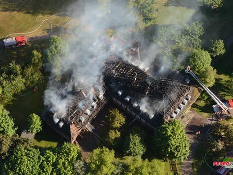 Großeinsatz nach Feuer in der Jugendherberge auf Borkum