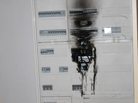 Feuer in Elektroverteilung eines Altenheims