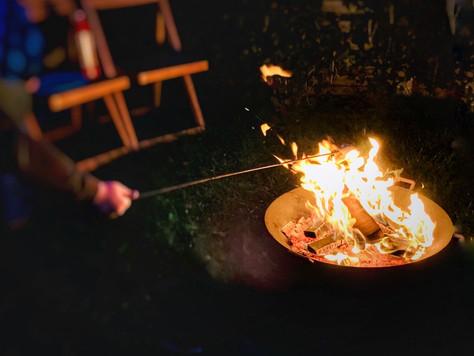 Was ist eigentlich mit Feuerkörben? - Kleines Feuer im eigenen Garten