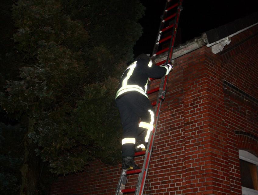 Mit einer WBK wurde das Dach kontrolliert