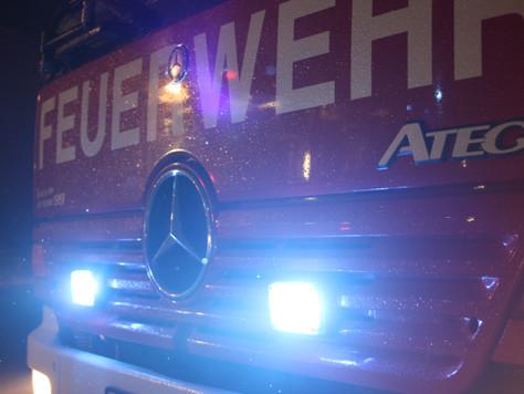 Zwei Brandeinsätze in der Nacht