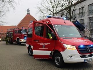 Feuer in Wohnheim – Brandmeldeanlage verhindert schlimmeres