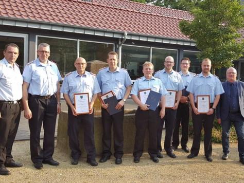 Neue Ehrenbeamte in der Samtgemeinde Jümme