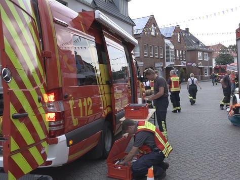 Unterstützung bei Gefahrstoffeinsatz im Landkreis Wittmund