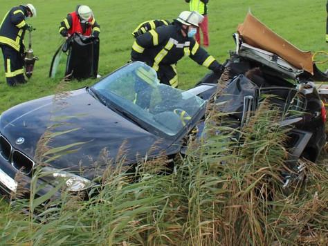 Verkehrsunfall zwischen Weener und Leer