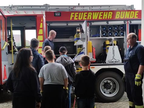 21 Kinder- und Jugendliche beim Schnuppertag in Bunde