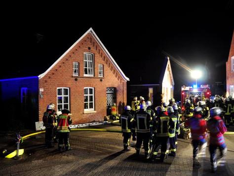 Gebäudevollbrand in letzter Minute verhindert