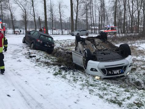 Schwerer Verkehrsunfall in Nortmoor