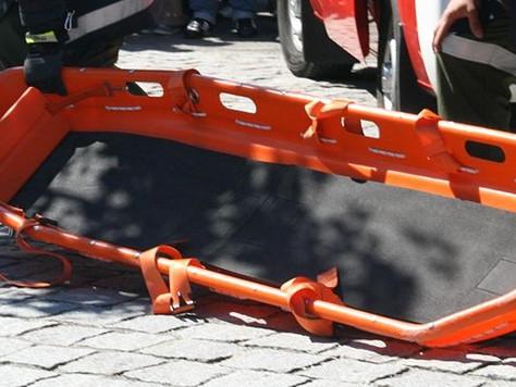 Unterstützung für Rettungsdienst auf Baustelle in Rhaudermoor