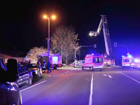Tödlicher Verkehrsunfall auf der B436 bei Weener