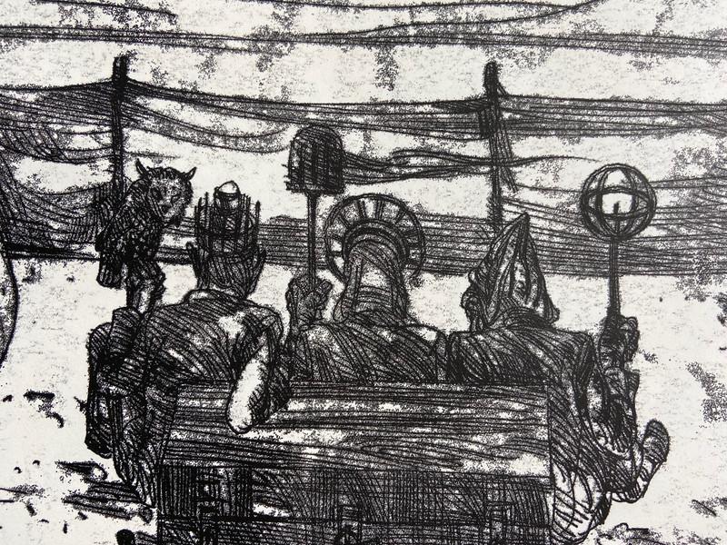 Details of privious art work