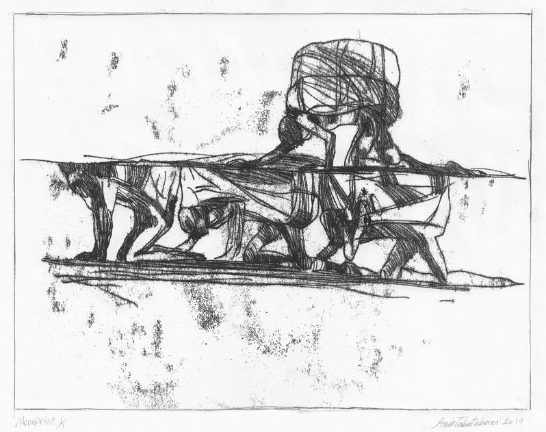koolbaran-14x17in-2020-Monotype- کولبران