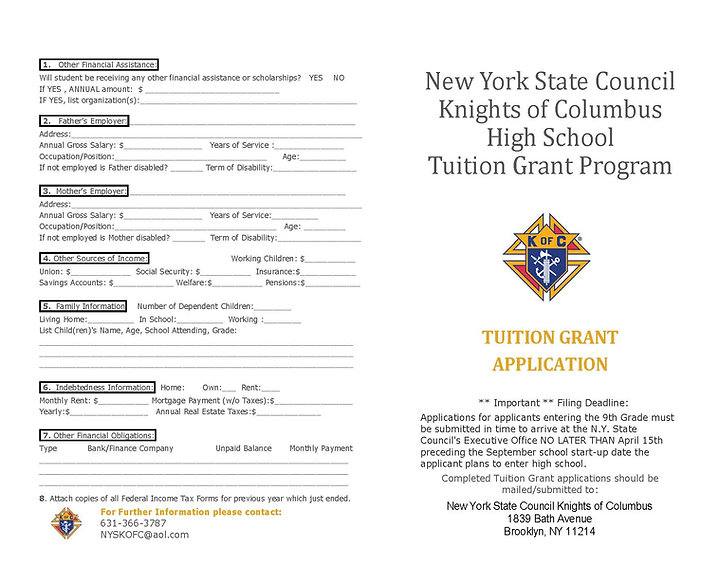 NYS KofC HS Tuition Grant Program_Page_1