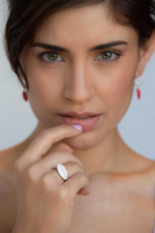 טבעת נשיקה חורפית - S