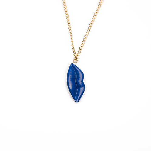 BLUE L ANGEL NECKLACE