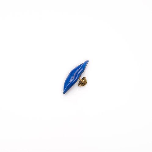 BLUE JACKET LAPEL PIN