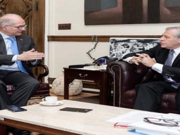 Almagro abordó la crisis humanitaria de Venezuela en reunión con Ledezma