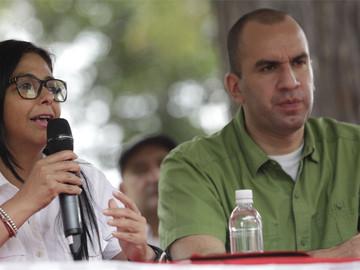 Delcy Rodríguez asegura que Venezuela no tiene como pagar comida por sanciones de Trump