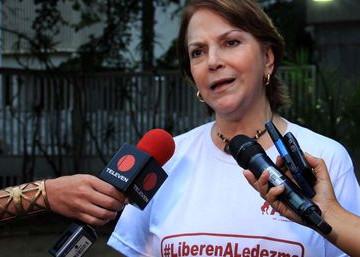 """Mitzy de Ledezma: """"Venezuela está a un paso del cambio"""""""