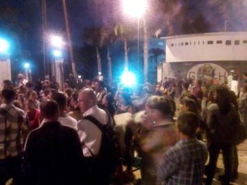 Se evidencian protestas a las afueras de Miraflores