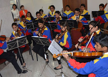 Orquesta juvenil venezolana mostró su talento en Moscú