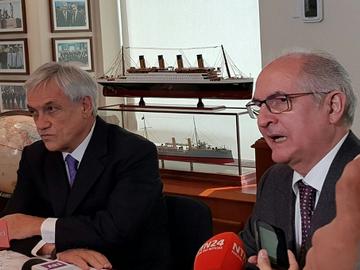 Crisis venezolana será tratada en encuentro entre Piñera y Ledezma