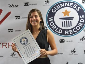 Jugadora vinotinto consigue Récord Guinness