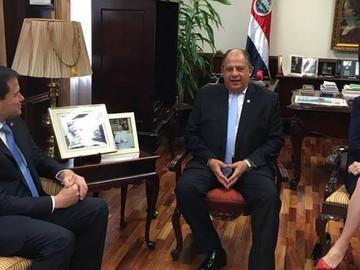 Senador rubio se reúne con gobierno de Costa Rica para debatir salida de Maduro