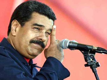 Venezolanos se quedaron esperando el Pernil prometido por Maduro