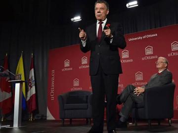 Santos dice que fracasaron los intentos por resolver crisis en Venezuela