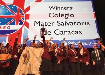 Colegio venezolano se alzó en competencia internacional