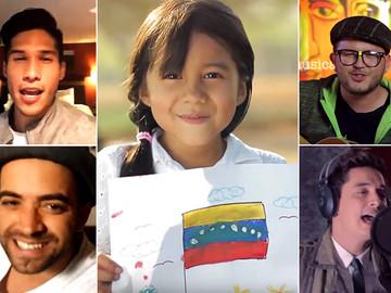"""Artistas venezolanos se unen llamando a que """"cantemos"""" sin odio"""
