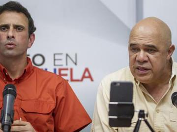 """MUD denuncia """"intento de golpe judicial del Psuv"""" [VIDEO]"""