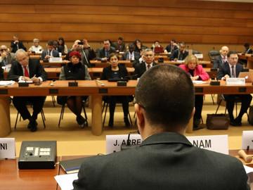 Canciller Arreaza asiste a conferencia de DDHH en la ONU