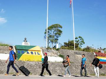 Realización de censo en Brasil suspende ingreso de venezolanos
