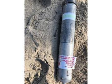 En Miami Beach fue encontrado un artefacto militar