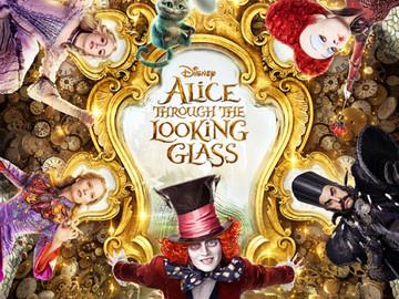 """El nuevo y fantástico tráiler de """"Alicia a través del espejo"""""""