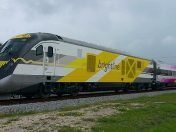Funcionamiento del Tren rápido Brigthline podría iniciar en diciembre