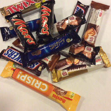 Erämursut testaa: suklaapatukat