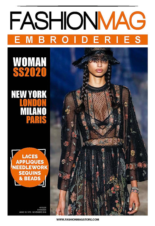 FASHIONMAG EMBROIDERIES WOMAN SS 20