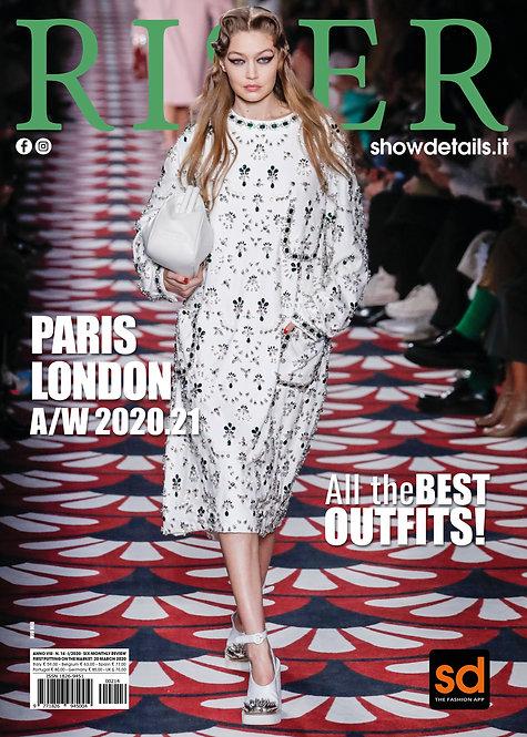 DIGITAL RISER PARIS LONDON FW 20/21